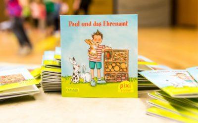 """Staatssekretärin stellt Pixi-Buch """"Paul und das Ehrenamt"""" vor"""