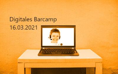 """Barcamp """"Ein Jahr Corona"""" am 16.03."""