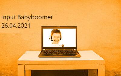 """Digitale Mittagspause """"Babyboomer"""" (26.04.)"""